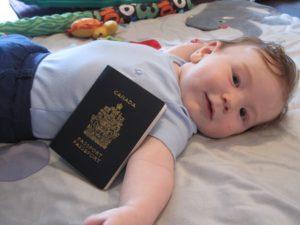 Ребёнок канадец