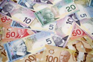 Канадские банкноты